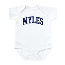 MYLES design (blue) Infant Bodysuit