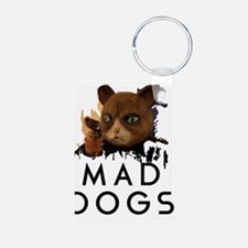 Mad Dogs Cat Shirt Keychains