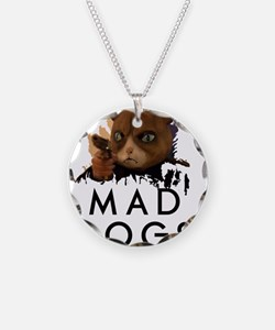 Mad Dogs Cat Shirt Necklace