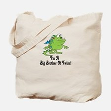 Big Brother of Twins Monster Tote Bag