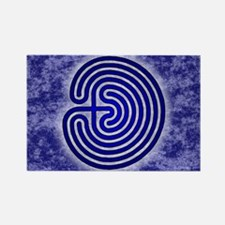 Blue Meis Galicia Labyrinth Magnets