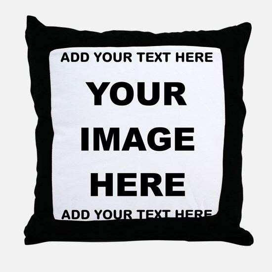 Make Personalized Gifts Throw Pillow