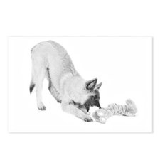 Terv Pup Postcards (Package of 8)