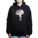 Evil mushroom Women's Sweatshirts and Hoodies