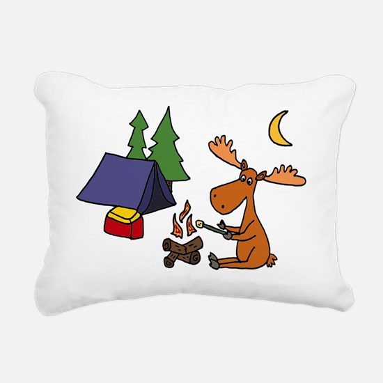 Unique Moose Rectangular Canvas Pillow