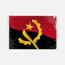 Angola Flag Magnets