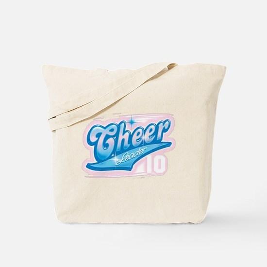 Cheerleader Airbrush Tote Bag