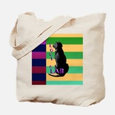 Unique Black labs Tote Bag