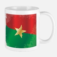 Burkina Faso Flag Mugs