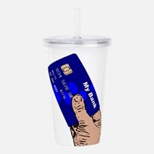Credit Card Acrylic Double-wall Tumbler