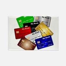 Debit and Credit Cards Magnets