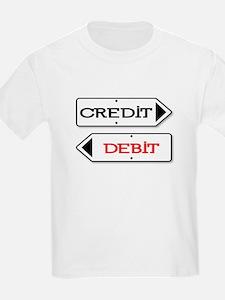 Credit Debit Arrows T-Shirt