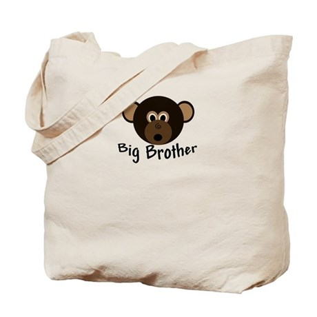 Big Brother Little Monkey Tote Bag