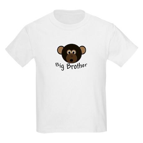 Big Brother Little Monkey Kids Light T-Shirt
