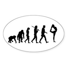 Evolution of Gymnastics Decal