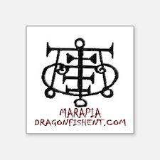 """Dfe Marapia Square Sticker 3"""" X 3"""""""