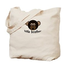 Little Brother Little Monkey Tote Bag