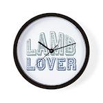 Lamb Lover Sheep Animal 4H Wall Clock