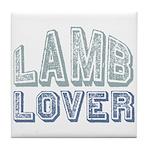 Lamb Lover Sheep Animal 4H Tile Coaster