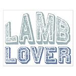 Lamb Lover Sheep Animal 4H Small Poster