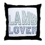Lamb Lover Sheep Animal 4H Throw Pillow