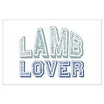 Lamb Lover Sheep Animal 4H Large Poster