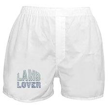 Lamb Lover Sheep Animal 4H Boxer Shorts