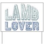 Lamb Lover Sheep Animal 4H Yard Sign