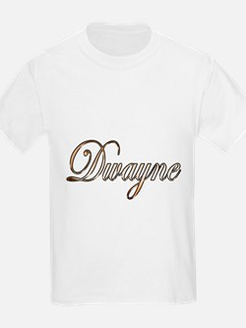 Gold Dwayne T-Shirt