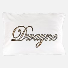 Gold Dwayne Pillow Case