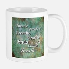 Breathe Smile Breathe Meme Mugs