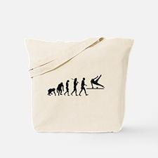 Pommel Horse Gymnastics Tote Bag