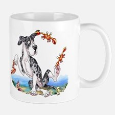 Great Dane MerleB UC Crabby Small Small Mug