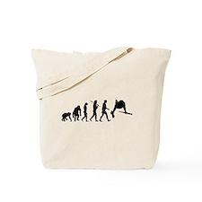 Parallel Bars Gymnastics Tote Bag
