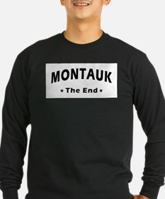 Montauk - The End T-shirts Long Sleeve T-Shirt