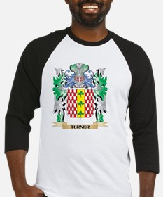 Turner Coat of Arms - Family Crest Baseball Jersey