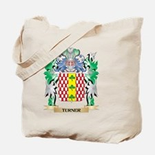 Turner Coat of Arms - Family Crest Tote Bag