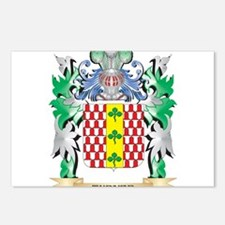 Turner Coat of Arms - Fam Postcards (Package of 8)