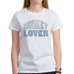 Monkey Lover Primate Zoo Animal Women's T-Shirt