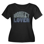 Monkey Lover Primate Zoo Animal Women's Plus Size
