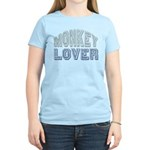 Monkey Lover Primate Zoo Animal Women's Light T-Sh