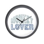 Monkey Lover Primate Zoo Animal Wall Clock