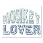 Monkey Lover Primate Zoo Animal Small Poster