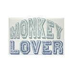 Monkey Lover Primate Zoo Animal Rectangle Magnet (