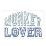 Monkey Lover Primate Zoo Animal Postcards (Package