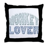 Monkey Lover Primate Zoo Animal Throw Pillow