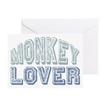 Monkey Lover Primate Zoo Animal Greeting Card