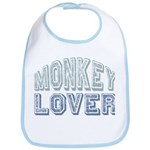 Monkey Lover Primate Zoo Animal Bib