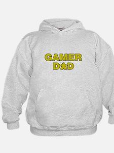 Gamer Dad Yellow Hoodie