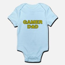 Gamer Dad Yellow Body Suit